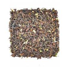 Черный чай с мелисой и мятой