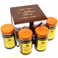 Кладовая пуэра - новогодний подарочный набор чая