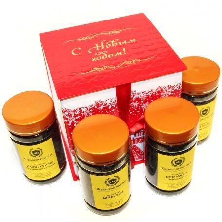 Красный дракон - новогодний подарочный набор чая