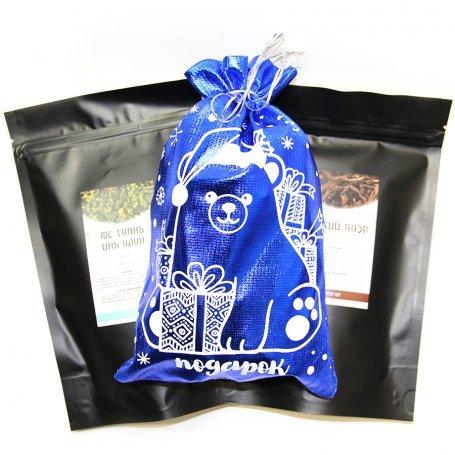 Подарок от Мишки - новогодний подарочный набор чая