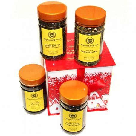Зимняя звездочка - новогодний подарочный набор чая