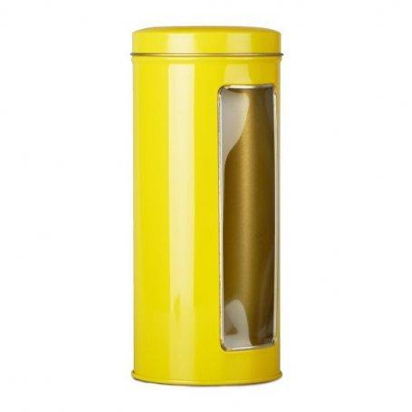 """Банка с окошком """"Лимон"""" (18 см, d 7,5 см)"""