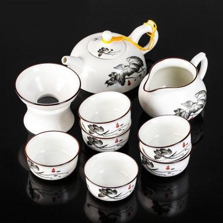 Набор для чайной церемонии Черный лотос