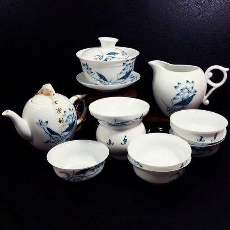 Набор для чайной церемонии Белый лотос