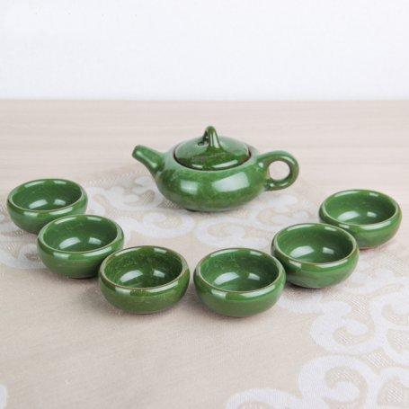 """Набор для чайной церемонии """"Колотый лед"""" зеленый"""