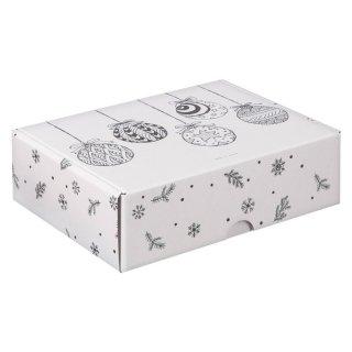 Коробка подарочная Елочные игрушки 30,7х22х9,5 см