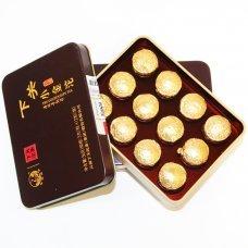 Золотая миниточа в коробке