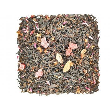 Черный чай Груша-гранат