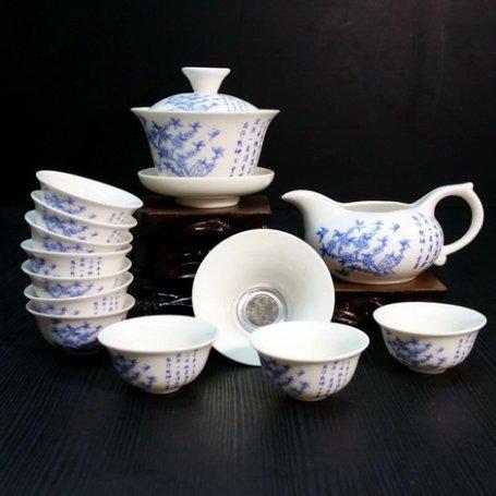 Набор для чайной церемонии из фарфора Сказ цветов