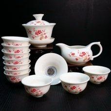 Набор для чайной церемонии из фарфора Древо любви