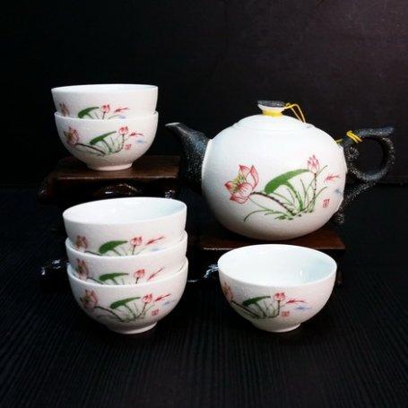 Набор для чайной церемонии из фарфора Маркиз