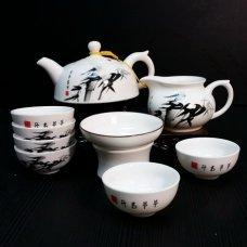 Набор для чайной церемонии из фарфора Холодный бамбук
