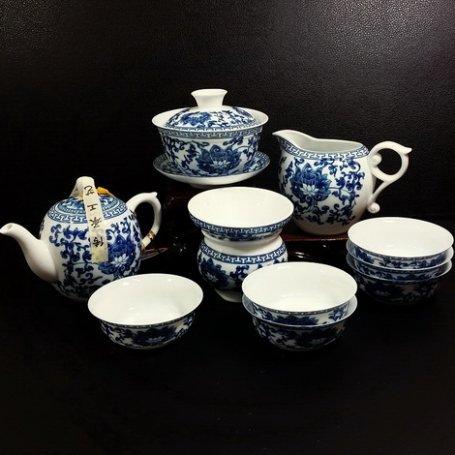 Набор для чайной церемонии Гжель