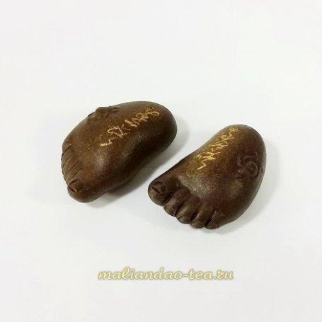 Чайная игрушка Стопы Будды №3 темные