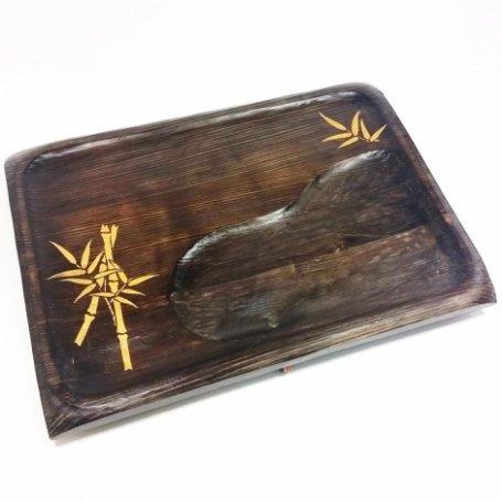 Чабань | Поднос ручной работы из дуба Бамбук