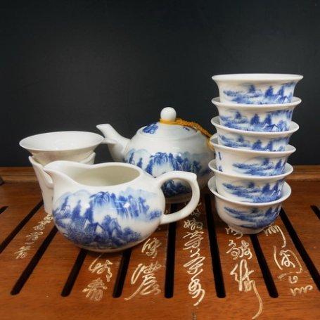 Набор для чайной церемонии из фарфора Водопады
