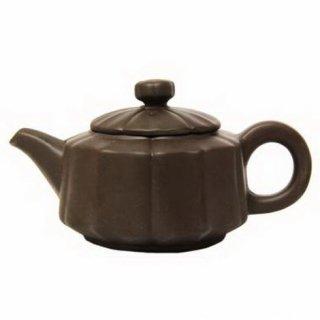 Чайник глиняный 101 темно-коричневый