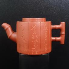 Глиняный чайник Бамбук
