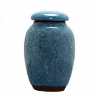 Чайница Колотый лед голубая