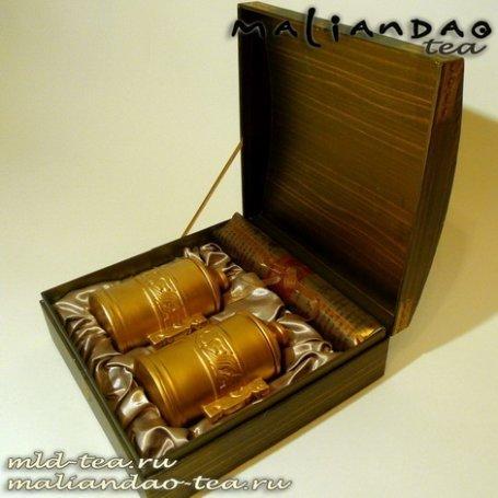 Подарочная упаковка для чая №8 - Золотая тайна