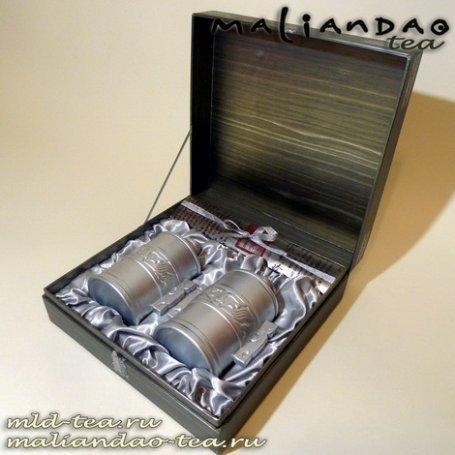Подарочная упаковка для чая №7 - Серебряная тайна