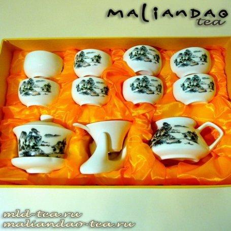 Чайный набор из фарфора №16 - Долина