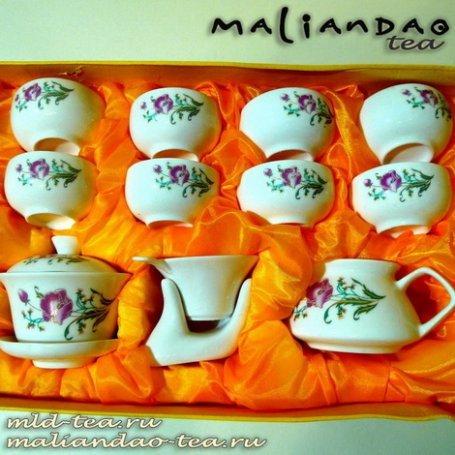 Чайный набор из фарфора №19 - Великолепие