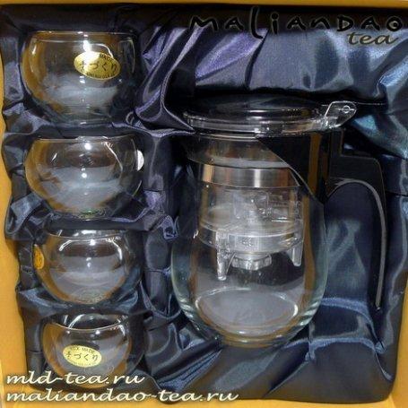 Набор чайный с ТиПодом (чайник Гунфу) и пиалами