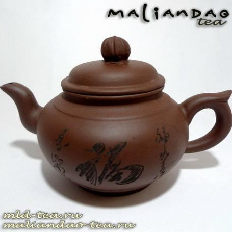 Глиняный чайник D067