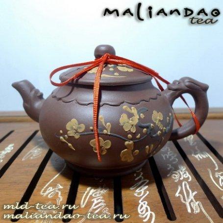 Глиняный чайник Чароит 3