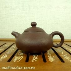 Чайник глиняный Деревня Лу