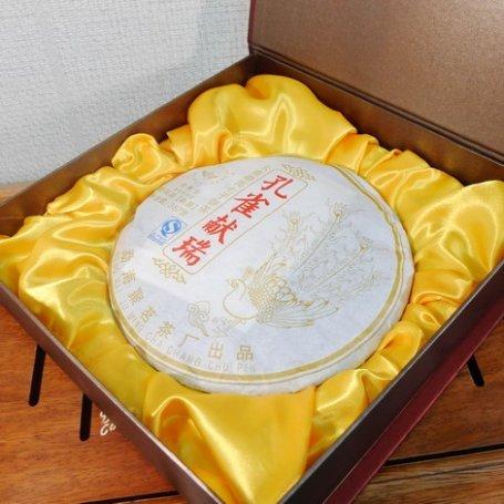 Шу пуэр в подарочной упаковке №15