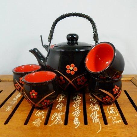 Набор для чайной церемонии с термопиалами Ягоды