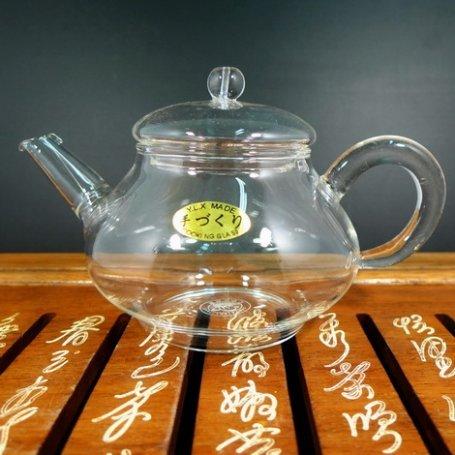 Чайник стеклянный заварочный Роза мини