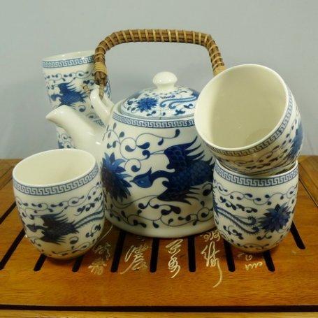 Набор для чайной церемонии из фарфора Домашний очаг