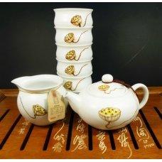 Набор для чайной церемонии из фарфора Баиль