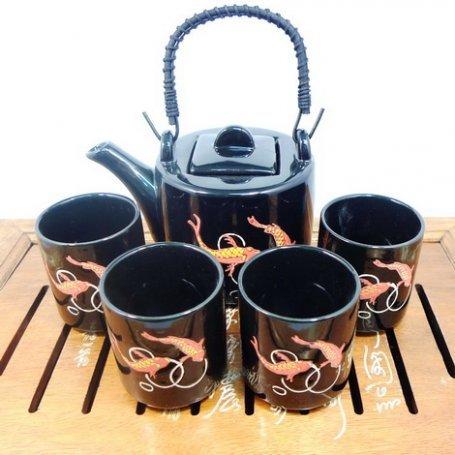 Набор для чайной церемонии Золотая рыбка