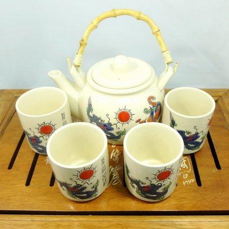 Набор для чайной церемонии Синий дракон 2