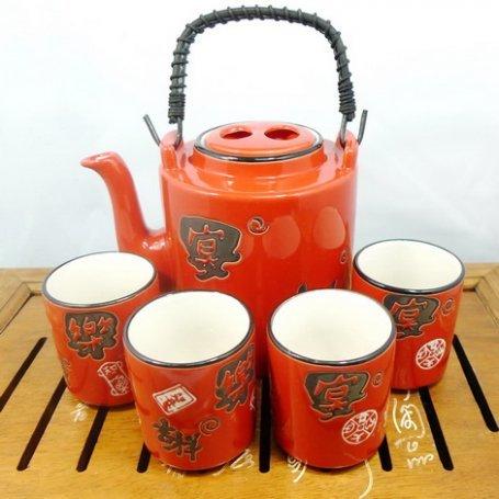 Набор для чайной церемонии Красный лик
