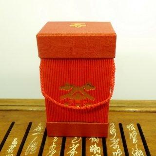 Подарочная банка №6 на 150 грамм (красная)
