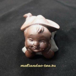 Чайная игрушка Глядящий вдаль (глина/глазурь)