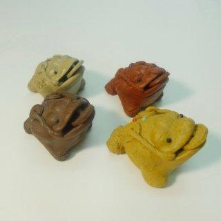Чайная игрушка Жаба денежная из глины