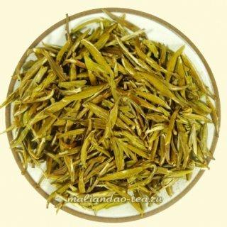 Клубничный желтый чай