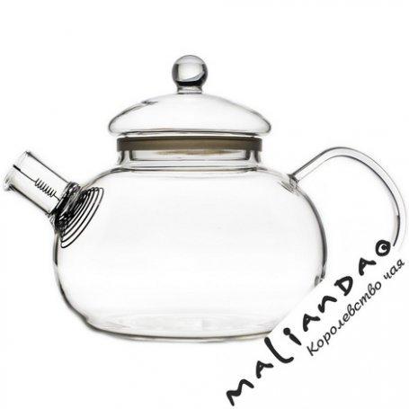 Чайник стеклянный заварочный Фиалка 2