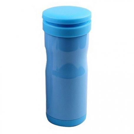Кружка-термос Люйку (голубой)
