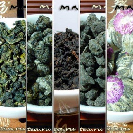 Подборка чая №5. Парад ароматов (по 50 грамм, расширенный)