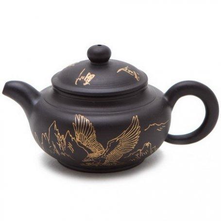 Глиняный чайник Пантера