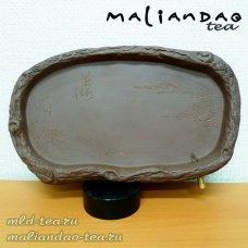 Чабань | Поднос для чайной церемонии Ручей (глина)